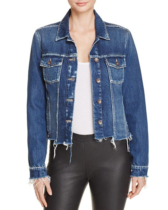 Uneven Rowan Denim Jacket in Felix