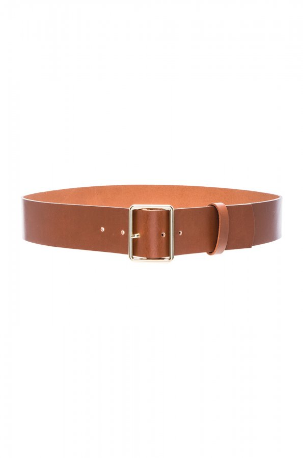 Rectangle Belt in Cognac