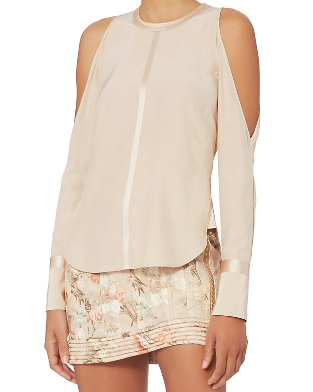 James Felicity Cold Shoulder Blouse