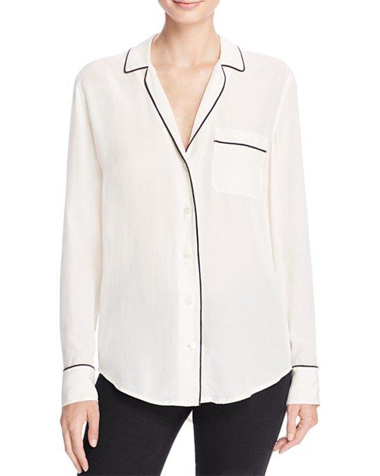 Kiera Pajama Silk Shirt