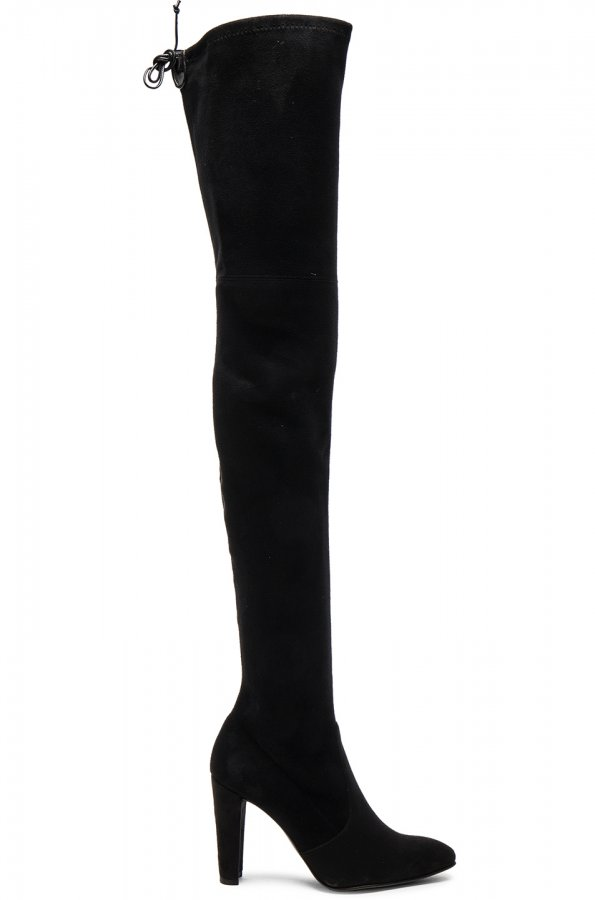 Suede Alllegs Boots in Black