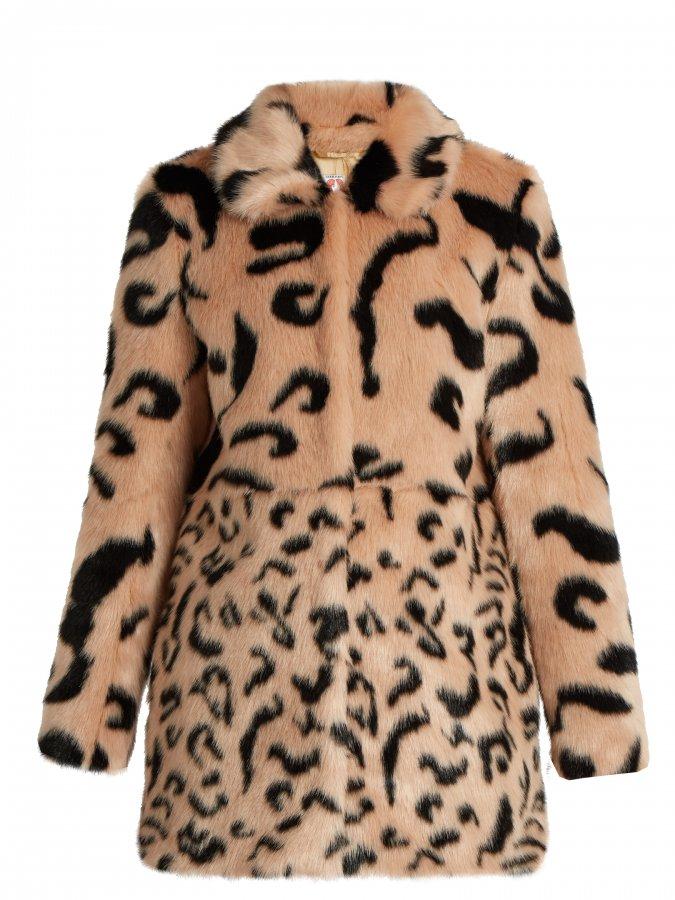 Lassie faux-fur coat