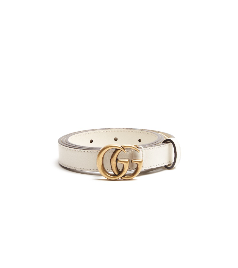 GG-logo 2cm leather belt