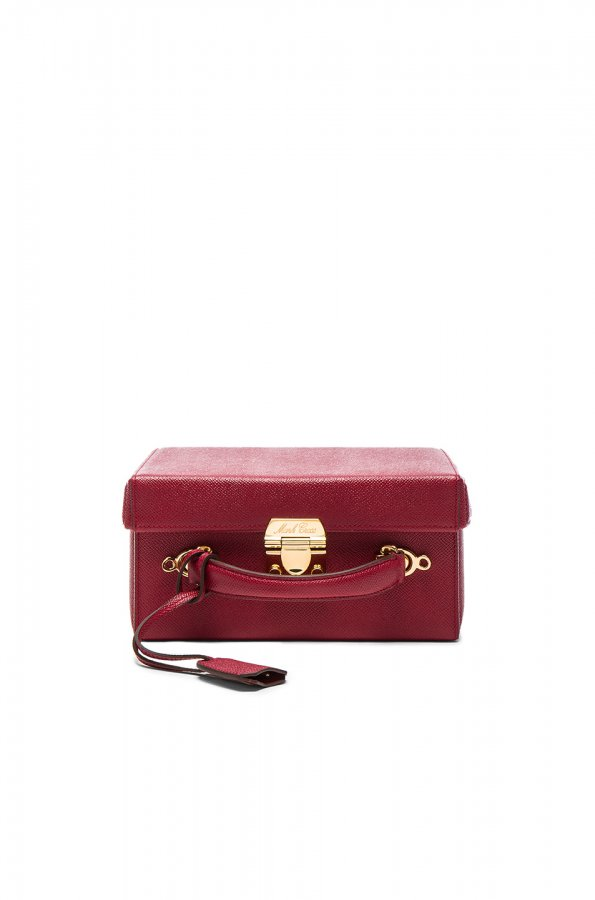 Grace Large Box Bag in Flame