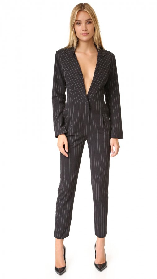 Tapered Leg Jumpsuit