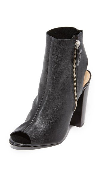 Zenna Open Toe Booties