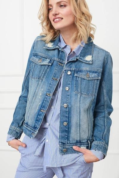 Vintage Wash Denim Jacket