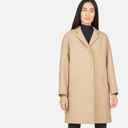 The Cocoon Coat - Camel