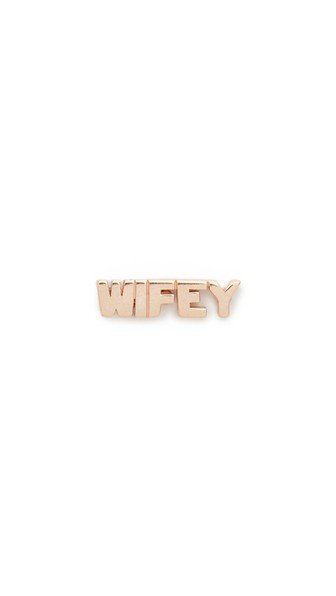 Wifey Stud Single Earring