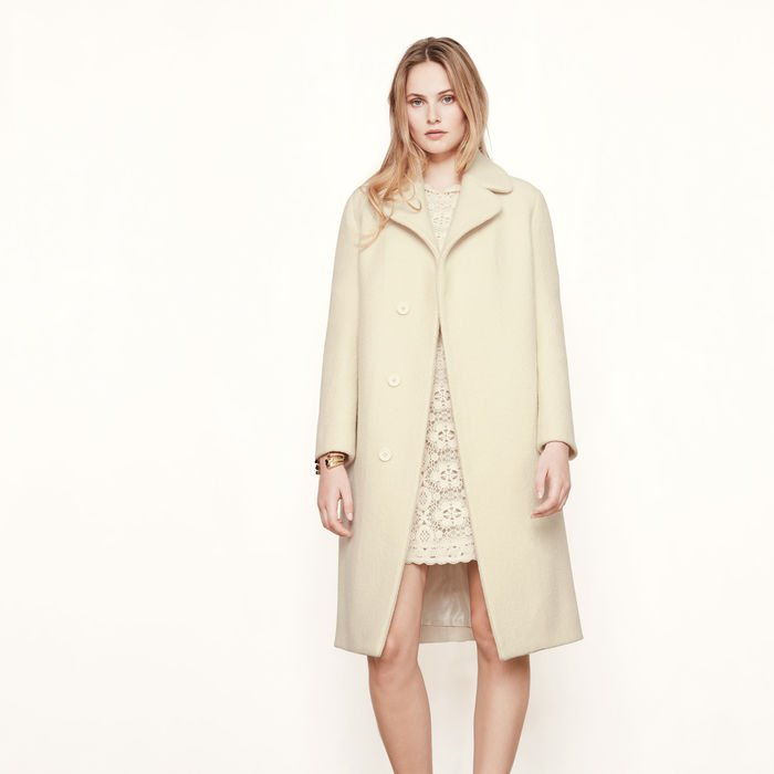 GYMON Long boiled wool coat