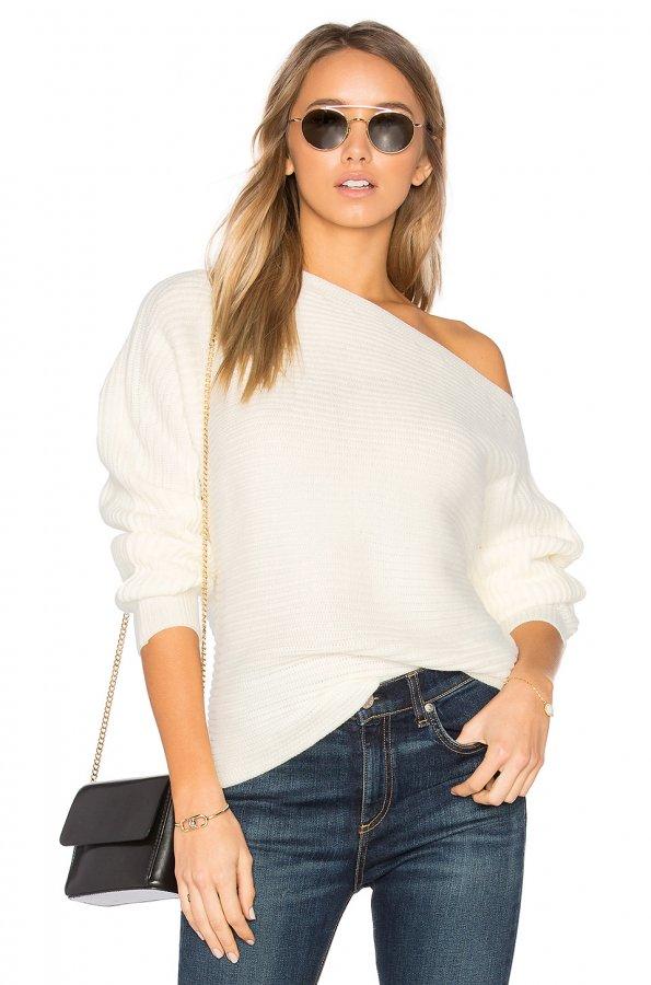 Kylie Off Shoulder Sweater