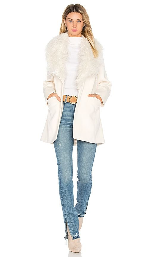 Elixir of Love Faux Fur Coat
