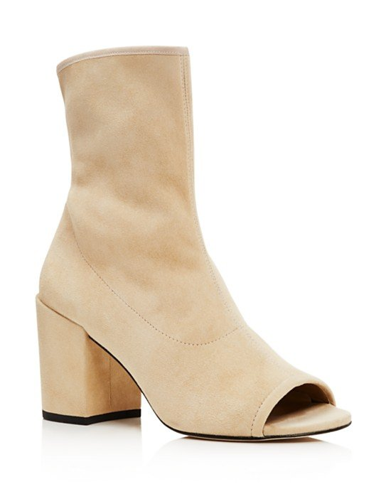 Bigkoko Open Toe High Heel Booties