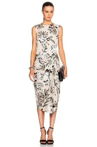 Fortune Burnout Dress
