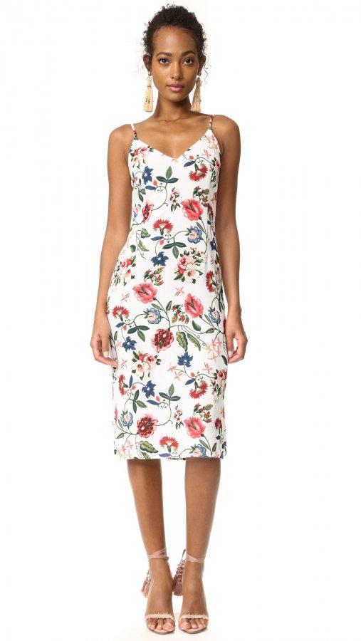Summer Garden Midi Dress