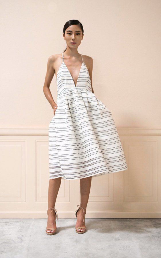Andrea Dress in Stripe
