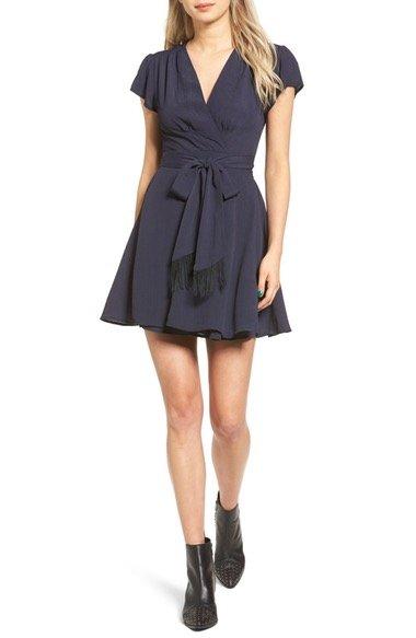 Yvonne Wrap Dress