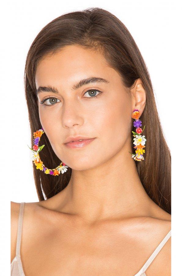 Fiesta Hoop Earrings