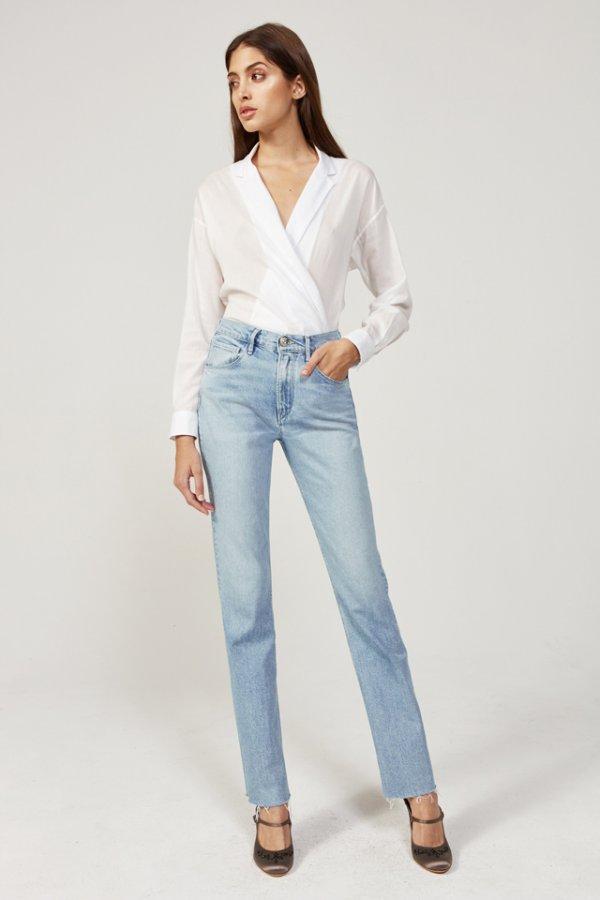 W4 DIY Straight Jean