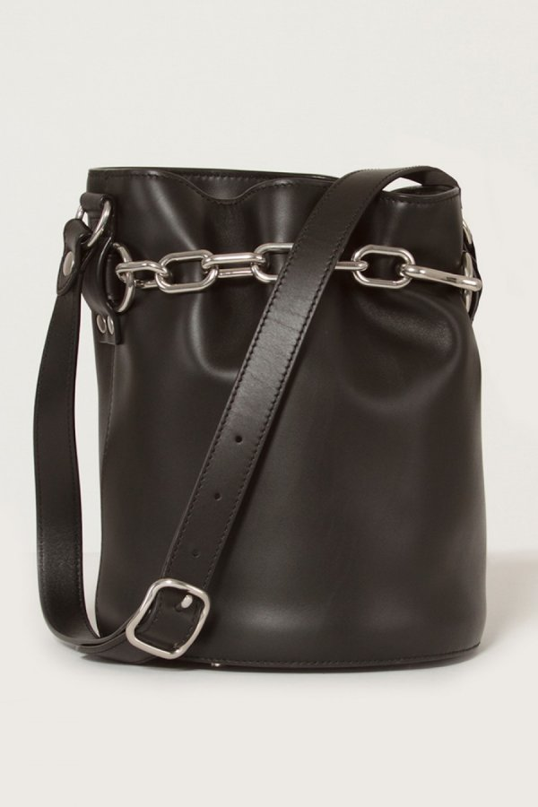 Alpha Chained Bucket Bag