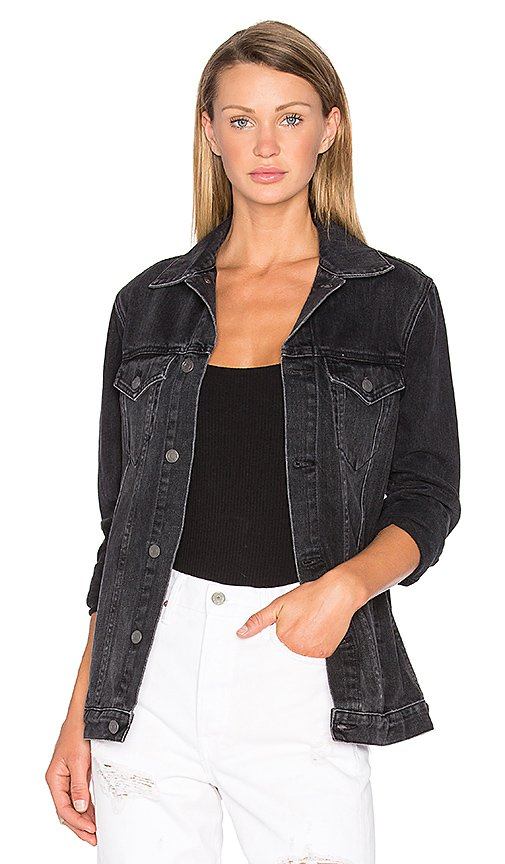 Daria Oversized Denim Trucker Jacket