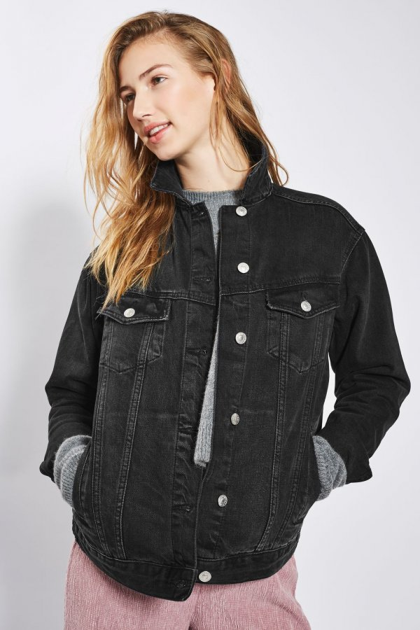 MOTO Seam Oversized Jacket
