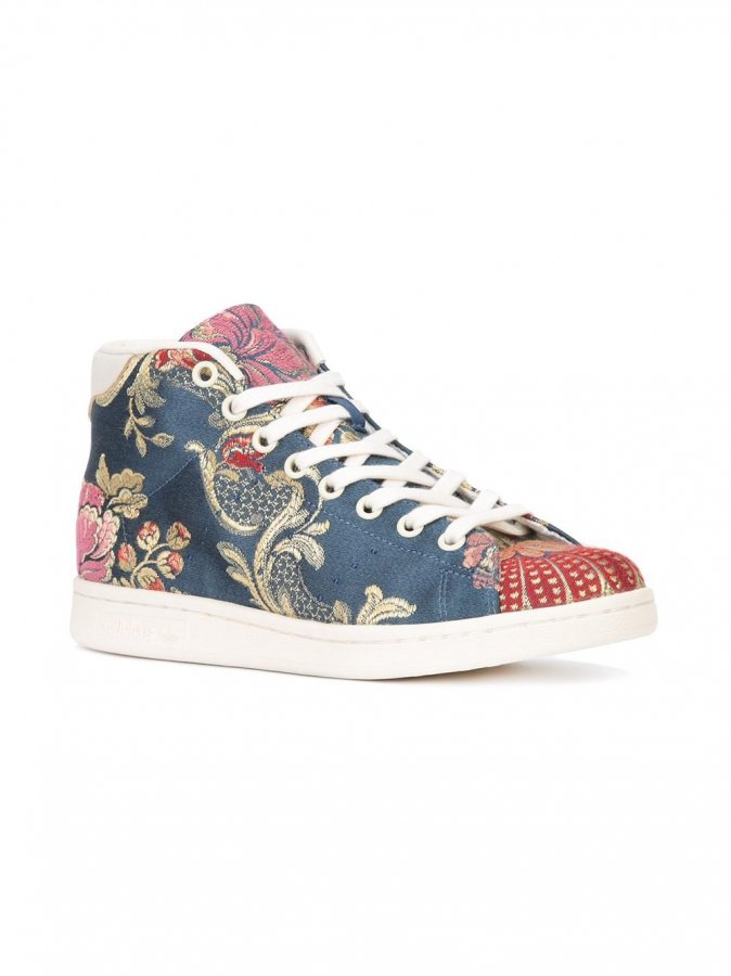 Adidas Originals X Pharrell Williams Floral Jacquard Sneaker