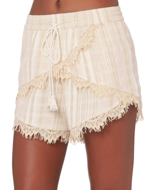 Lea Lace Trim Shorts