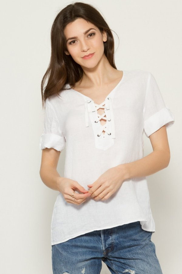 Howard Lace-Up Top