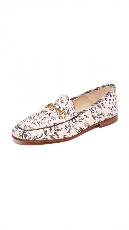 Loraine Printed Loafers