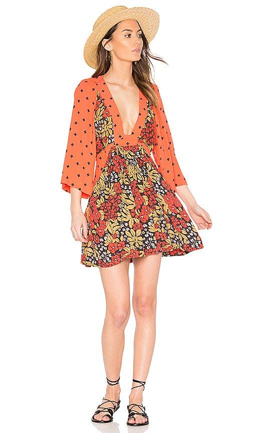 Talulla Printed Mini Dress
