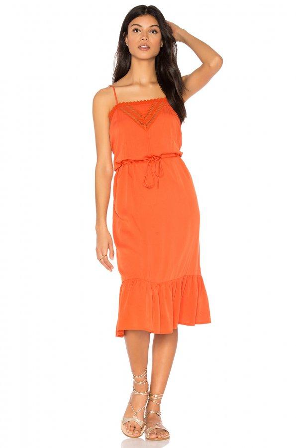 Victorian Slip Midi Dress