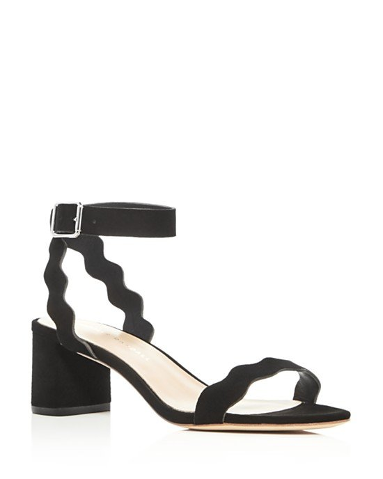 Emi Ankle Strap Block Heel Sandals