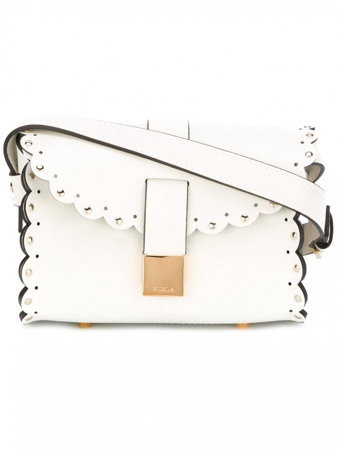 Studded Scallop Edge Bag