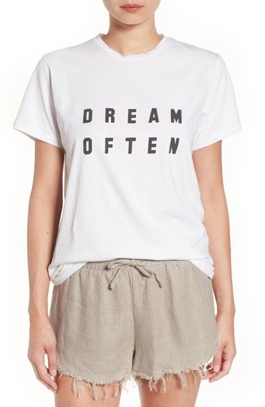\'Dream Often\' Graphic Tee