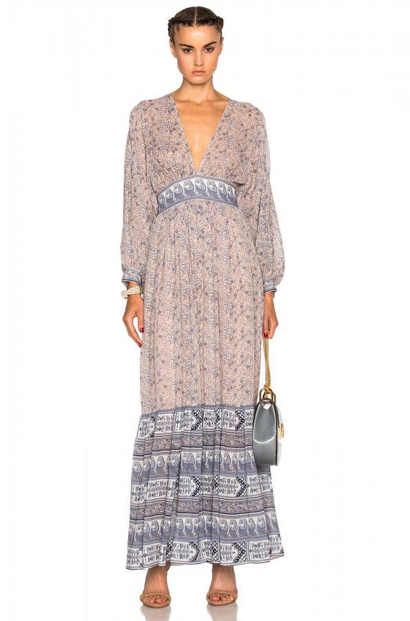 Emmanuelle Dress in Rose