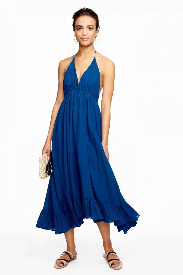 Miami Indigo Dress