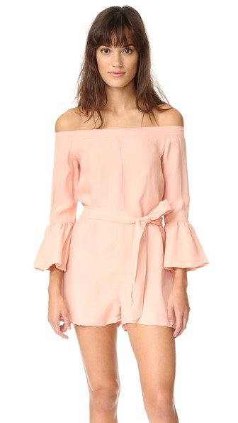 Haze Shoulder Romper