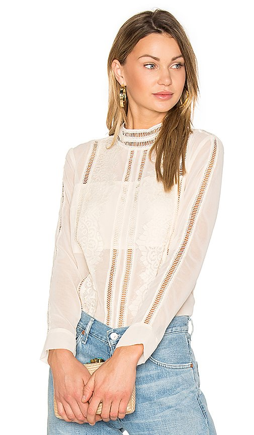 Karmel Lace Shirt