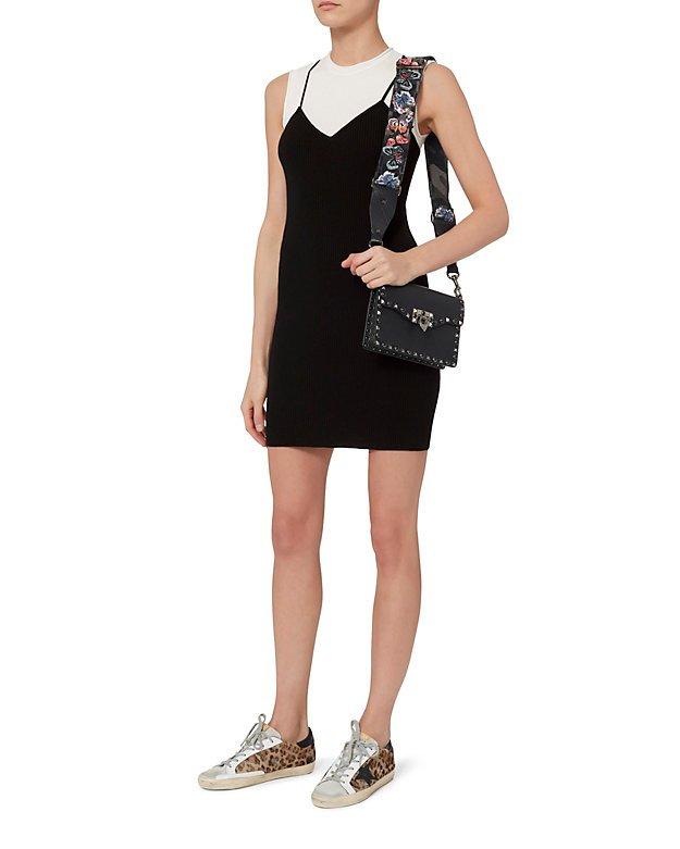 Aviana Double Layer Knit Dress