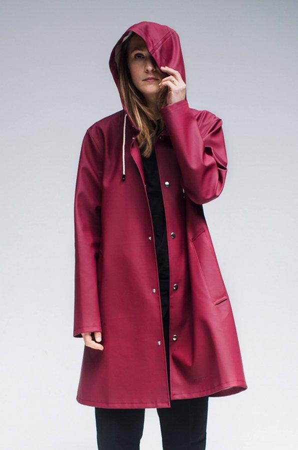 Mosebacke Burgundy – Stutterheim Raincoats