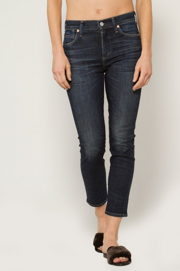 Rocket Crop High-Rise Skinny Jeans