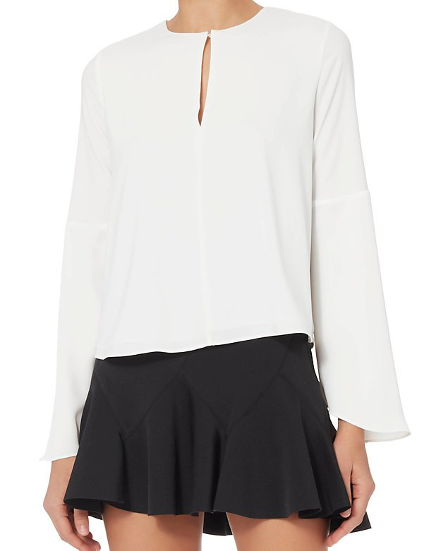 Devin Flare Sleeve Blouse