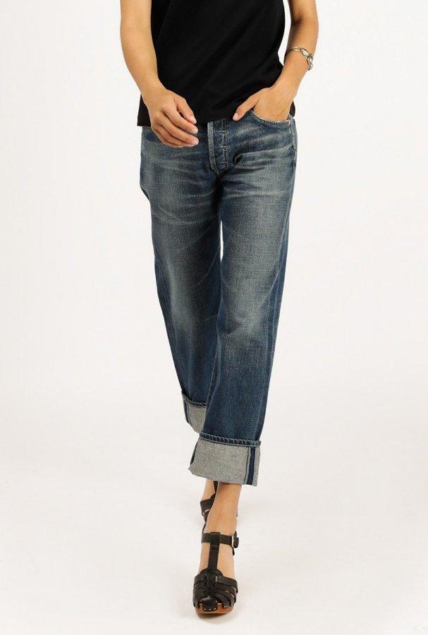 Cora High Rise Crop Jean