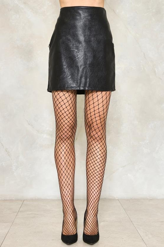 Cast Your Net Wider Fishnet Tights