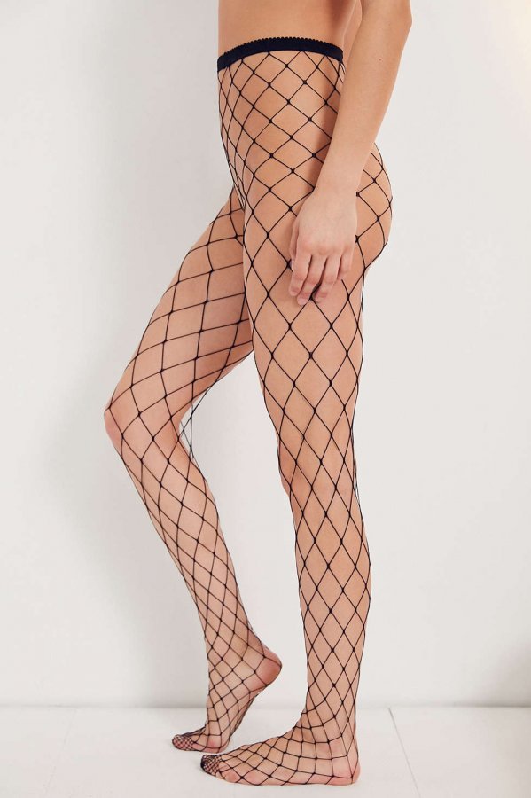 Wide Net Fishnet Tight