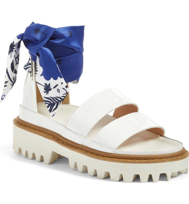Scarf Strap Sandal