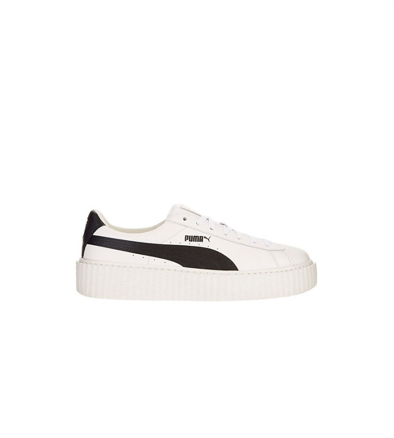 Fenty Creeper White Leather Sneakers