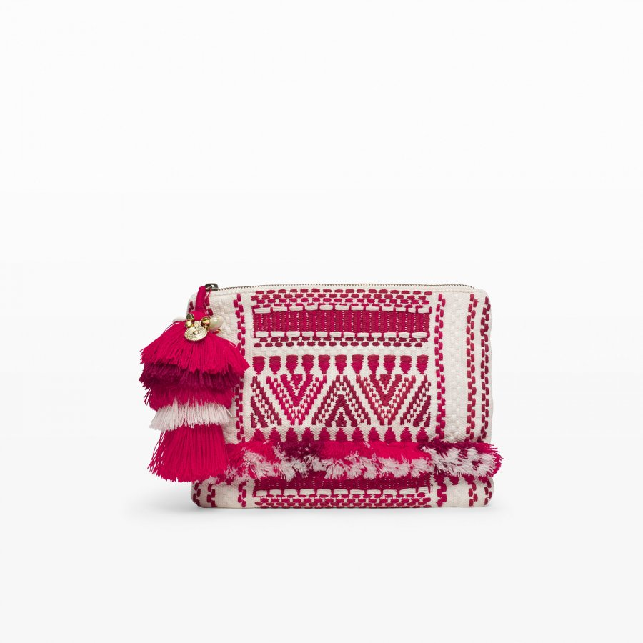 Figue Sangita Zip Clutch