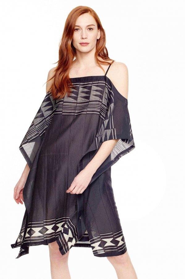 Imoa Printed Silk Caftan